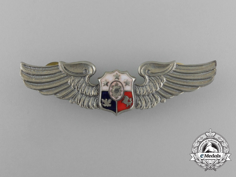 eMedals-A Philippine Air Force Pilot Badge