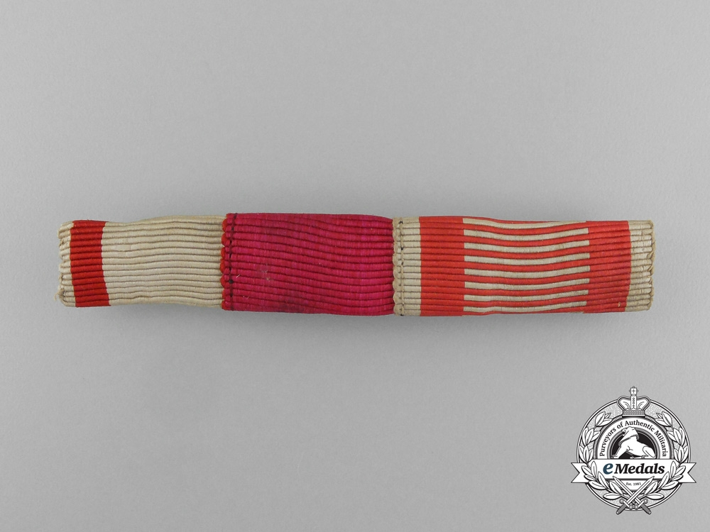 eMedals-An Austrian Three-Ribbon Ribbon Bar