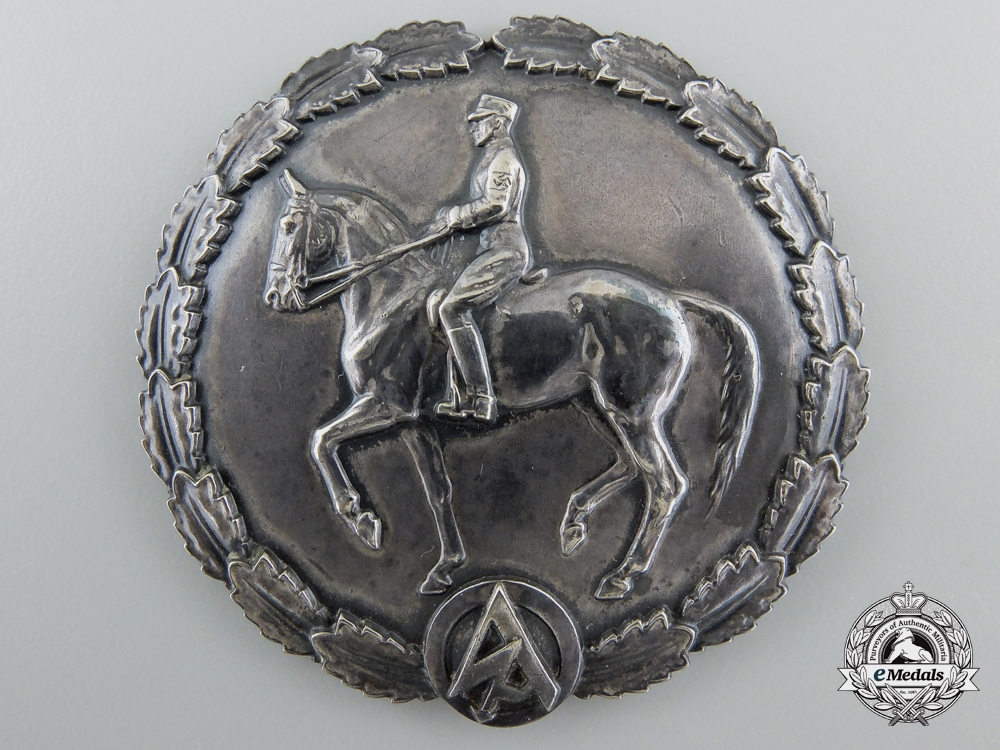 eMedals-Germany. An SA Expert German Horseman's Badge