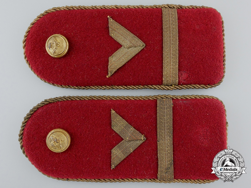 eMedals-A Set of Hungarian Air Force Shoulder Boards