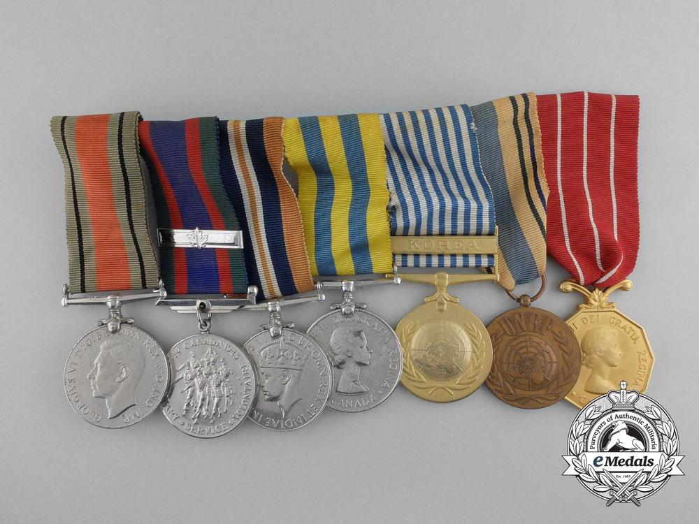 eMedals-A Canadian Second War & Korea Medal Group