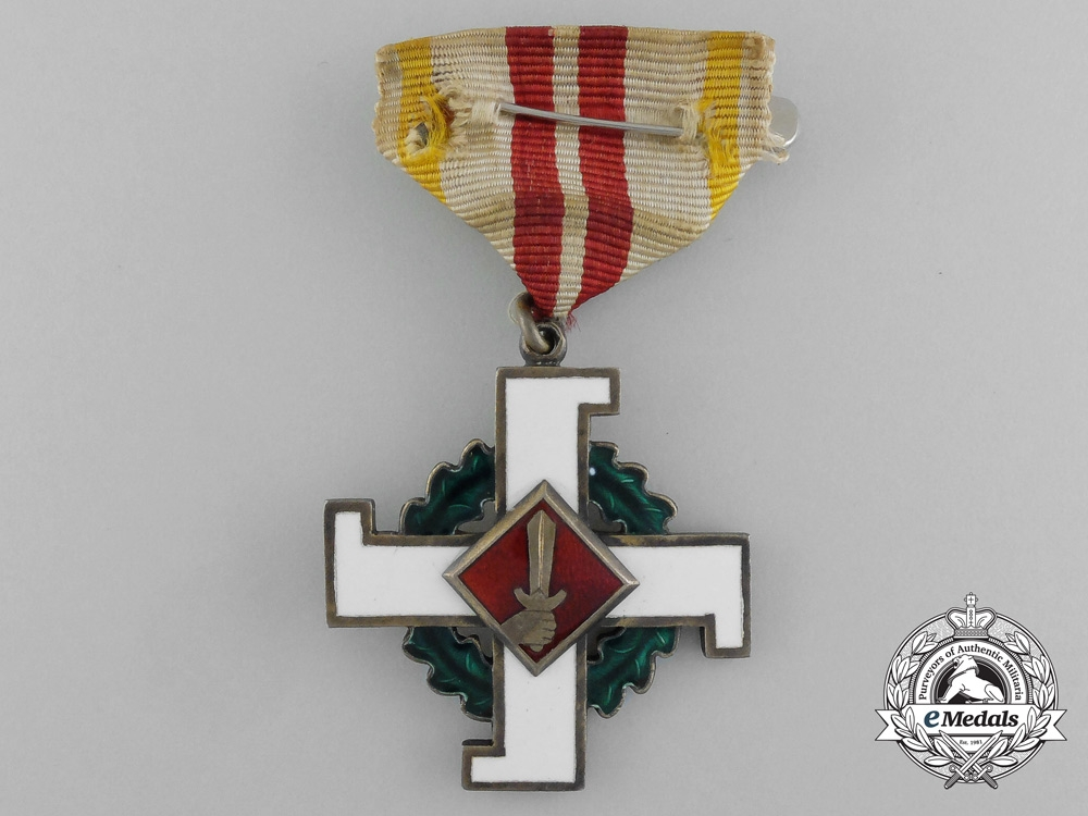 eMedals-A Latvian Home Guard Cross of Merit