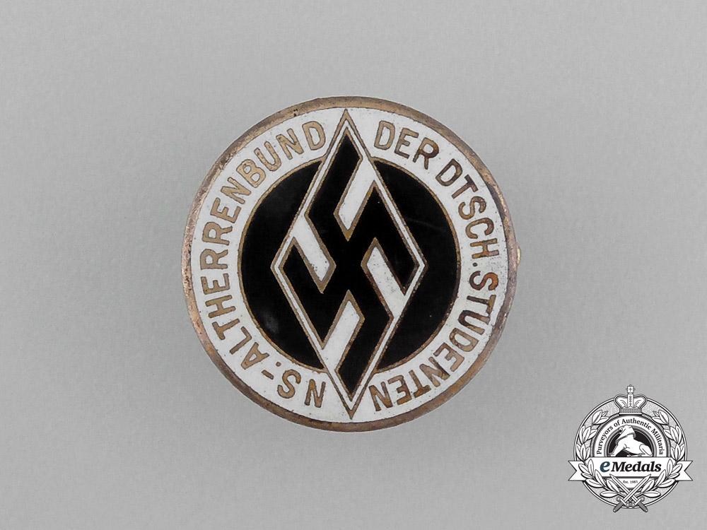 eMedals-A National Socialist Association of German Students Membership Badge