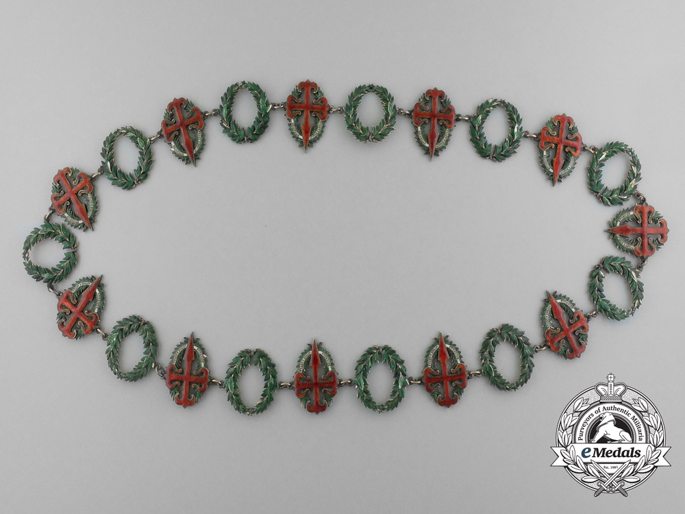 eMedals-Portugal. A Military Order of Saint James of the Sword, Collar