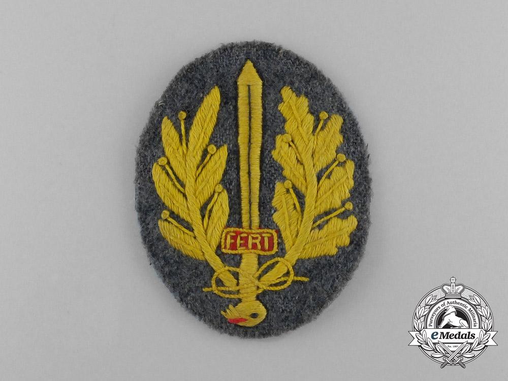 eMedals-An Italian Army Sleeve Badge