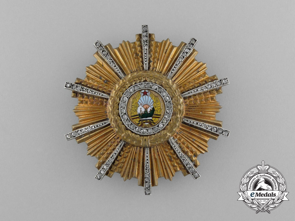 eMedals-A Romanian Order of the 23rd of August with Diamonds