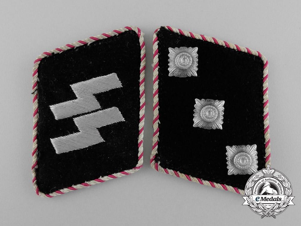 eMedals-An Unusual Pair of SS-Sonderfuhrer/Fachführer Collar Tabs