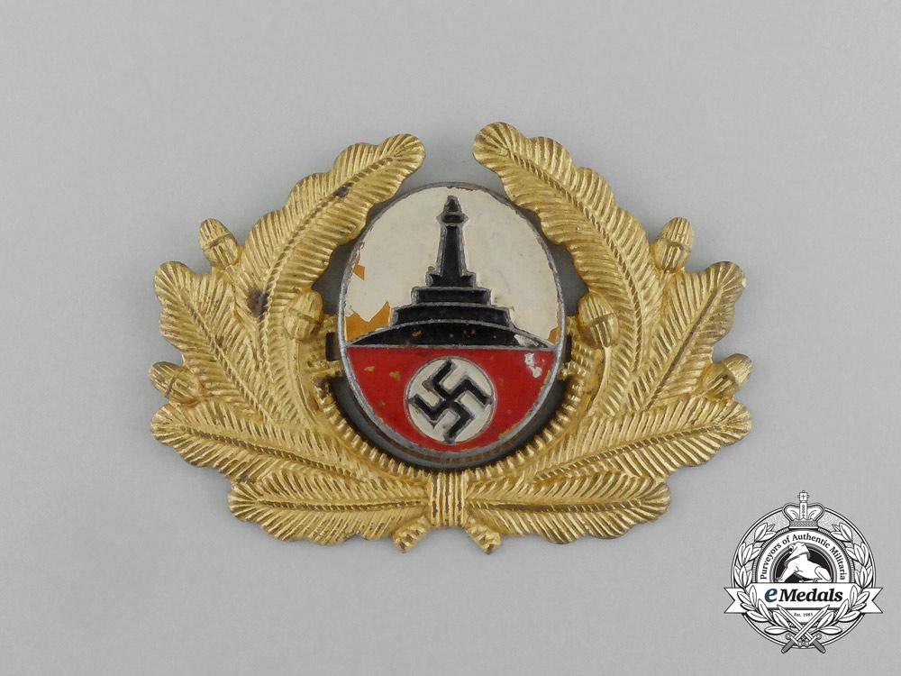 eMedals-A Kyffhäuser League Visor Cap Insignia