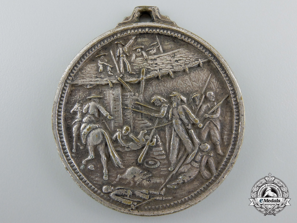eMedals-An 1863 French Foreign Legion Battle of Camerón Commemorative Medal