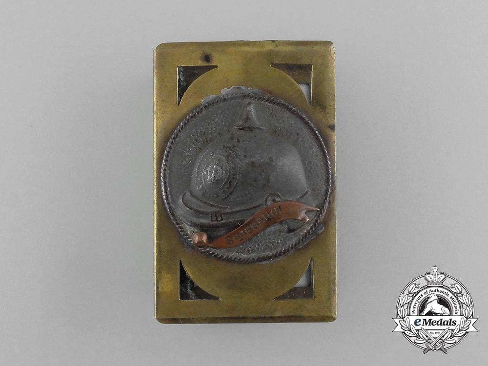 """eMedals-A German First War """"Srs France"""" Matchbox Cover"""