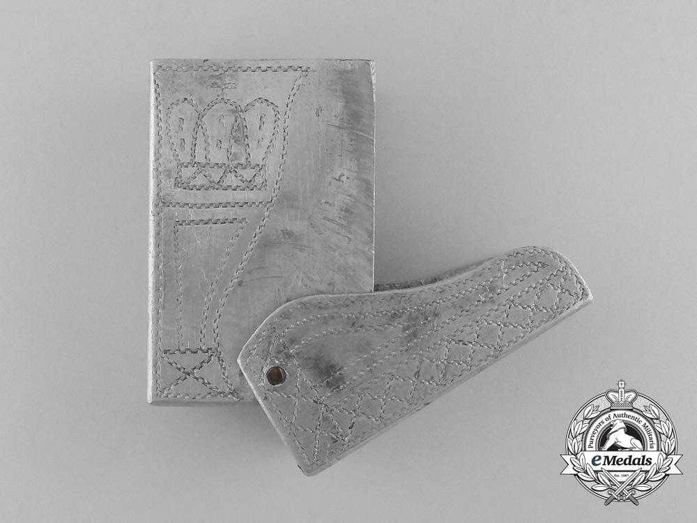 """eMedals-A German First War """"Verdun"""" Matchbox Cover 1914-1917"""