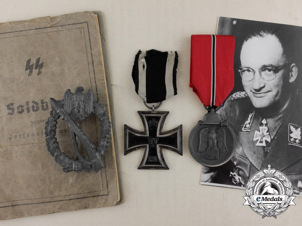 eMedals-A Group to von Gotberg; SS & Police Commander of Central Russia