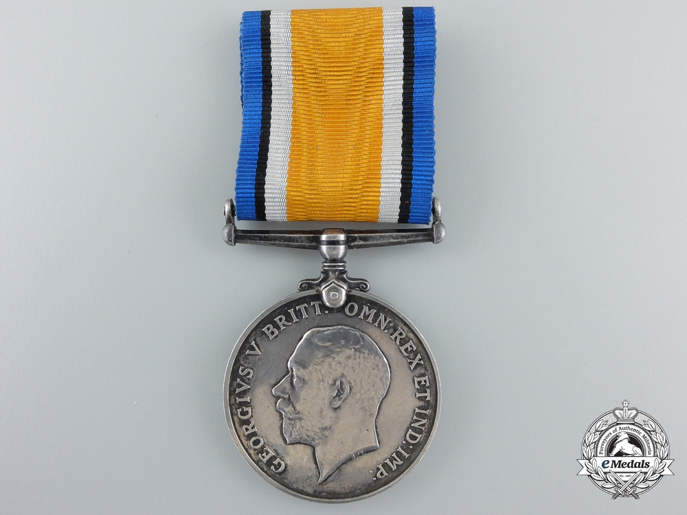 eMedals-A British War Medal to the Canadian Engineers