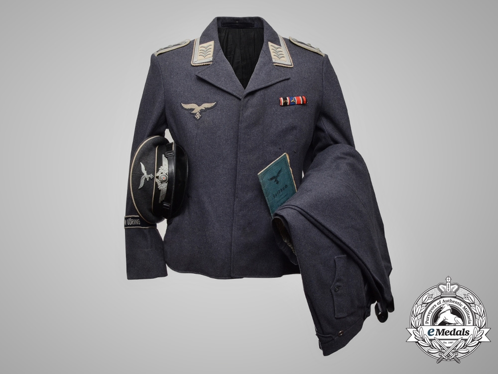 A Hermann Göring Division NCO's Uniform & Soldbuch of ...