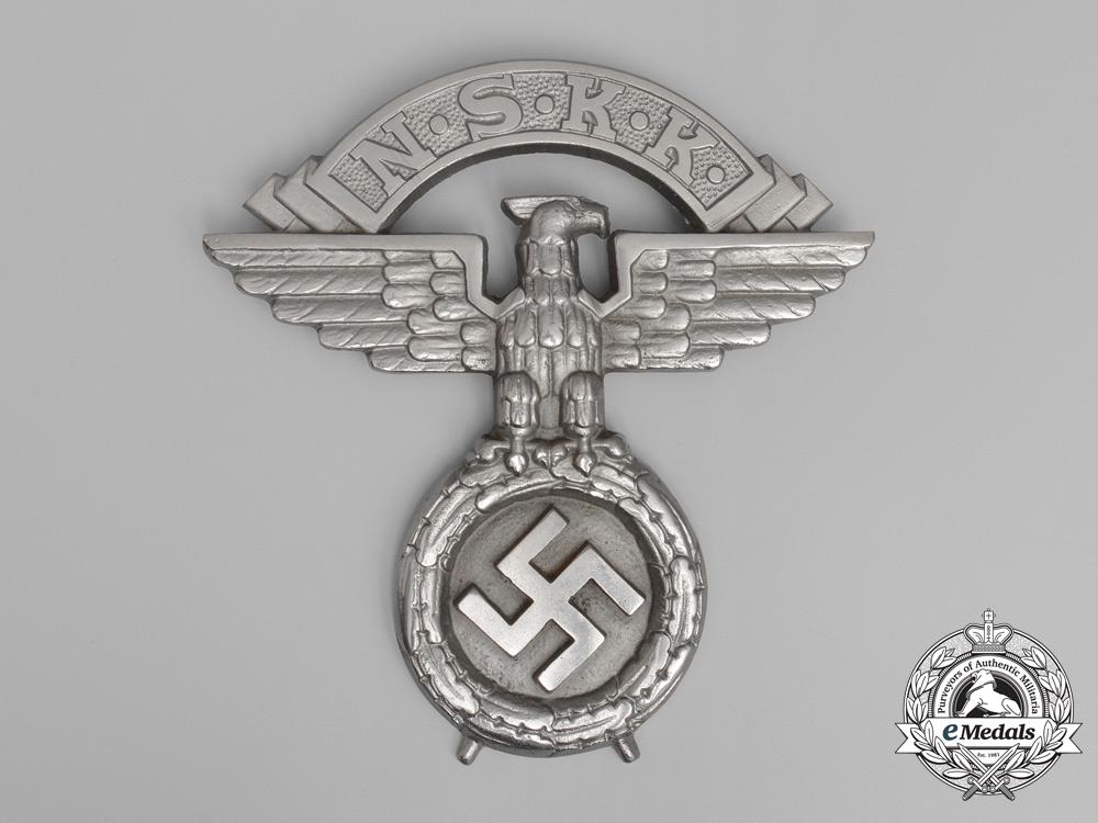 eMedals-A Large NSKK (National Socialist Motor Corps) Wall Ornament