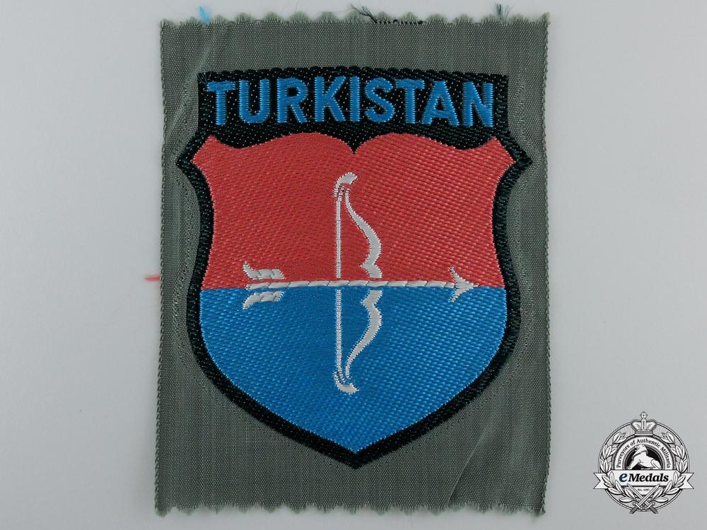 "eMedals-A  Bevo ""TURKISTAN"" Foreign Volunteer Shield"