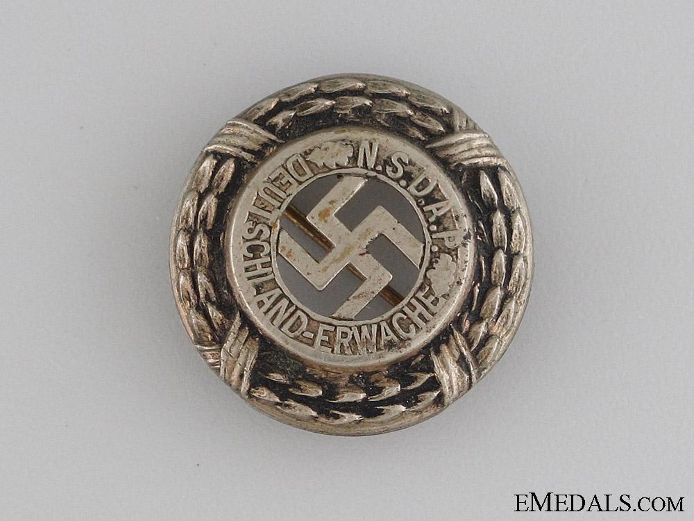 eMedals-Early NSDAP DEUTSCHLAND ERWACHE Pin
