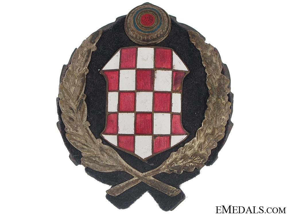 eMedals-Early WWII period Police Leader's Cap Badge (1941)