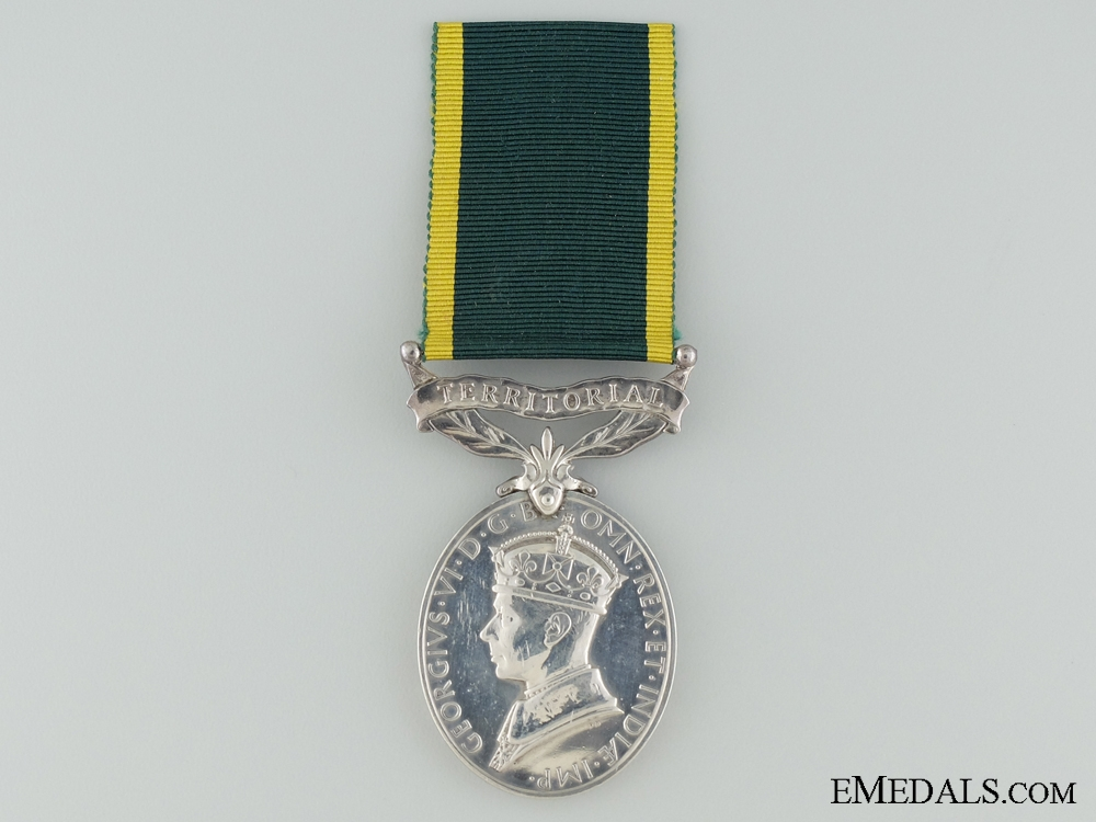 eMedals-Efficiency Medal to the Green Howards