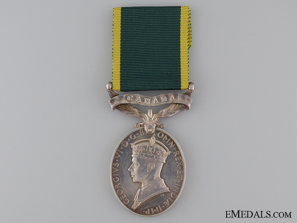 eMedals-Efficiency Medal to the Royal Canadian Artillery