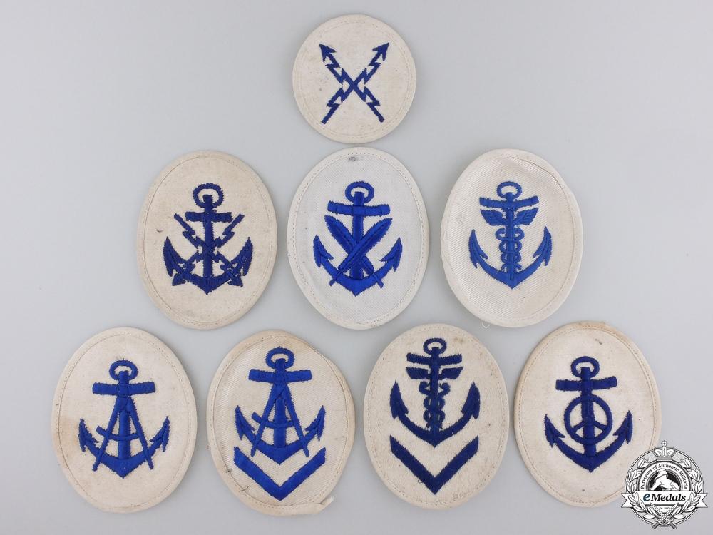 eMedals-Eight Second War Kriegsmarine Career Sleeve Insignia