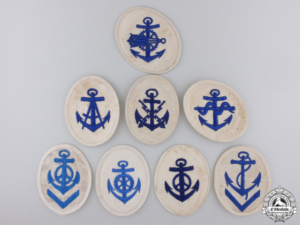 eMedals-Eight Second War Kriegsmarine Non-Com Officer's Career Sleeve Insignia