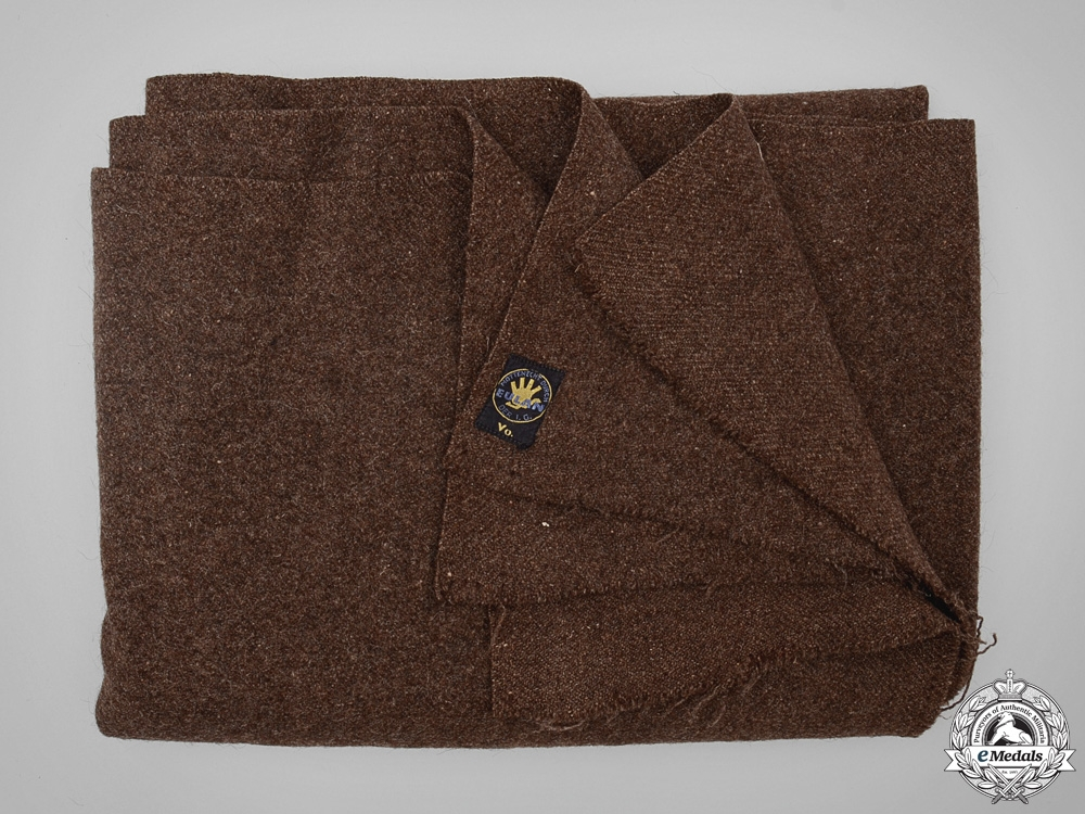 eMedals-An RAD (Reichsarbeitsdienst) WoolBlanket