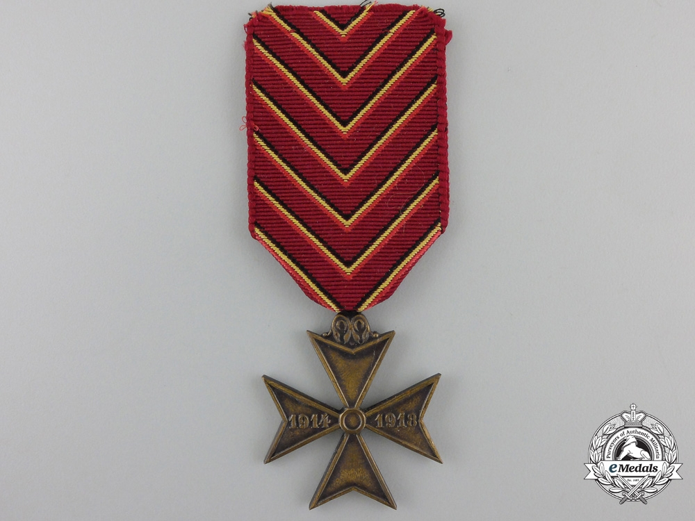 eMedals-A First War Belgian Deportee Cross