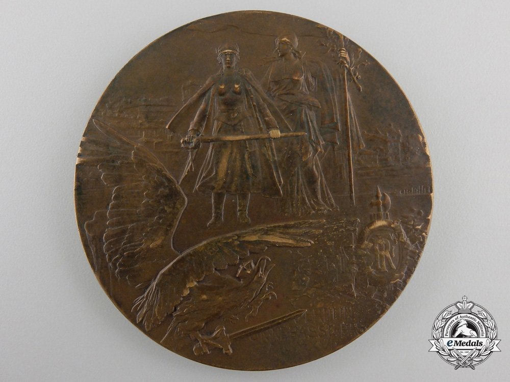 eMedals-A 1916 French Heroes of Verdun Medal