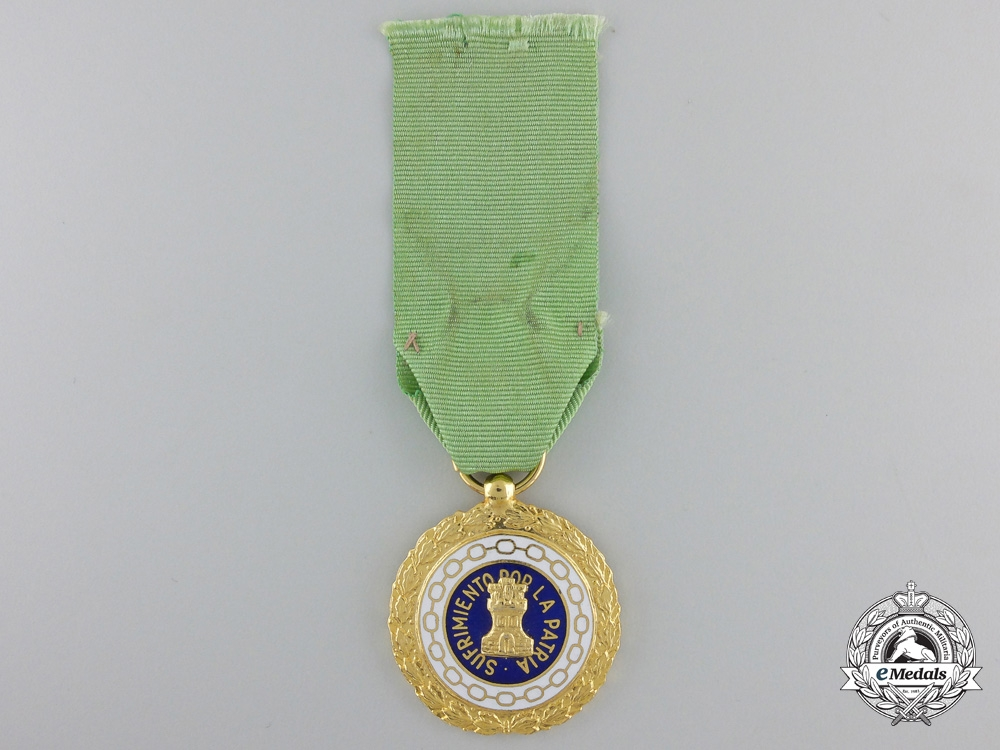 eMedals-A Spanish Civil War period Patriotic Suffering Medal