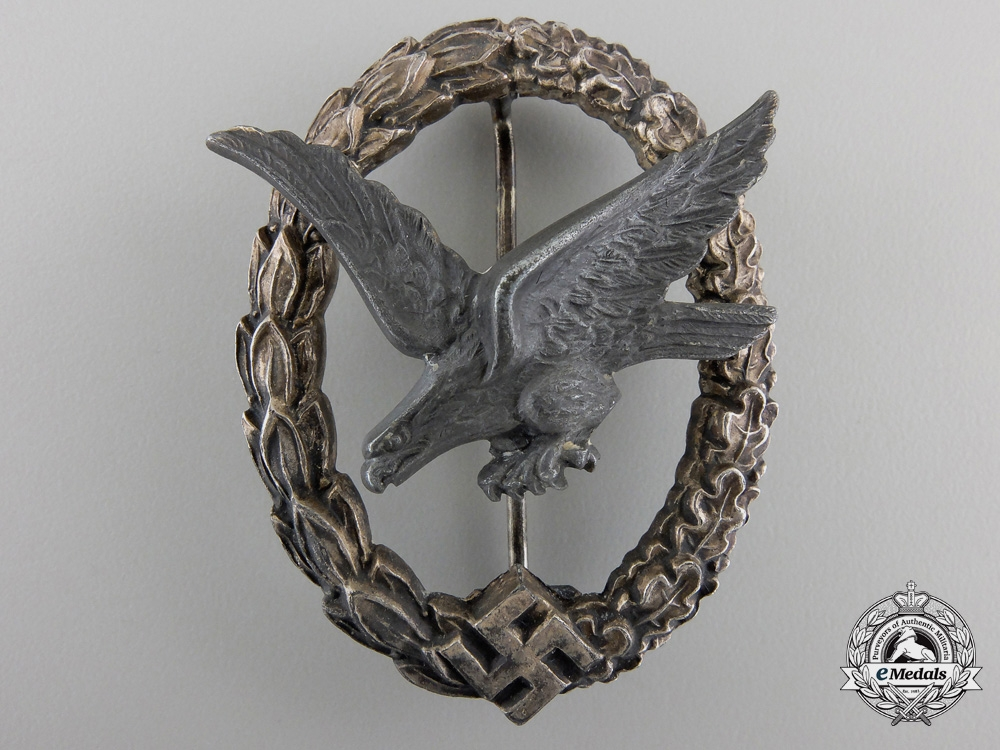 eMedals-A Luftwaffe Air Gunner Badge (without Lightning) by W. Deumer