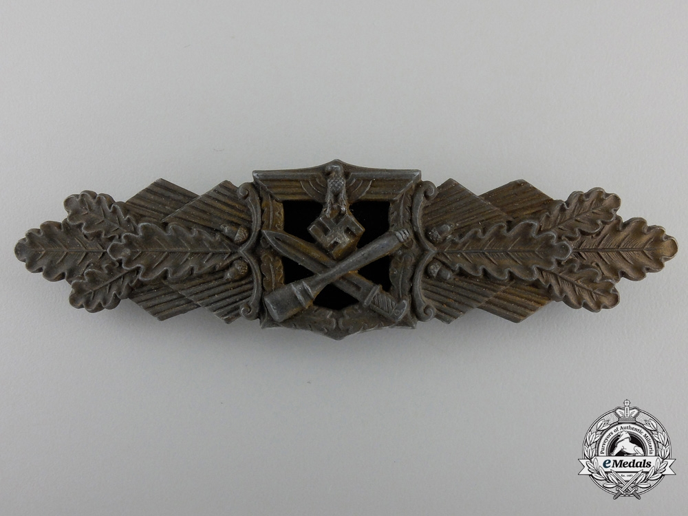 eMedals-A Bronze Grade Close Combat Clasp