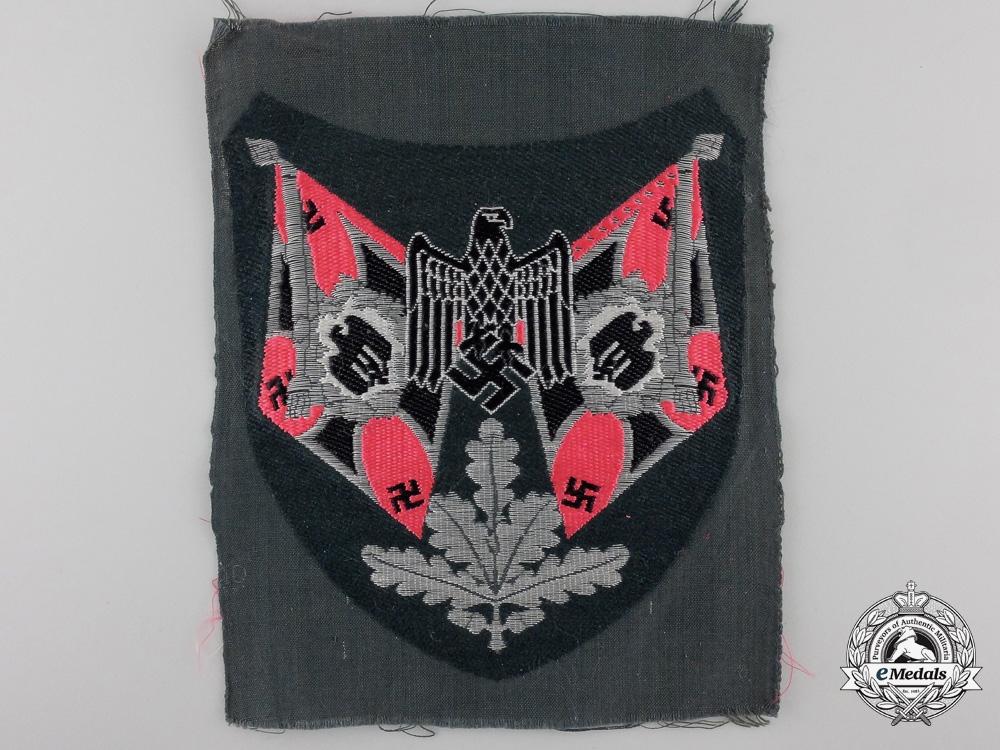 eMedals-A Panzer Flag Bearer Sleeve Insignia