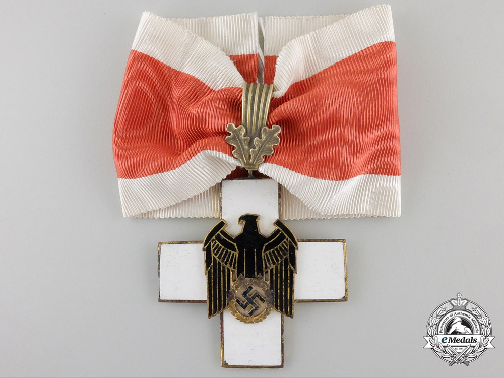 eMedals-A German Social Welfare Decoration; First Class Cross