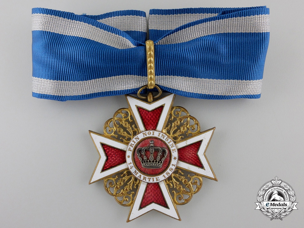 eMedals-A Romanian Order of the Crown; Commander (1881-1932)