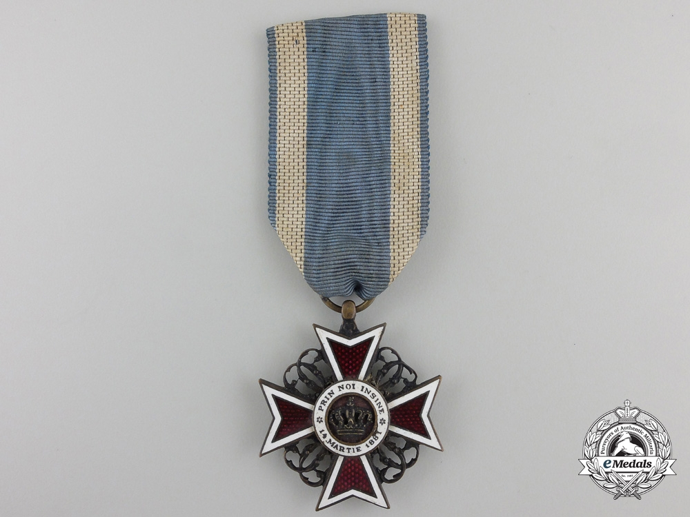 eMedals-An Order of the Romanian Crown; 1881-1932 Knight's Cross