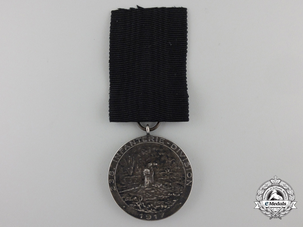 eMedals-A First War German 238th Infantry Bravery Award 1917