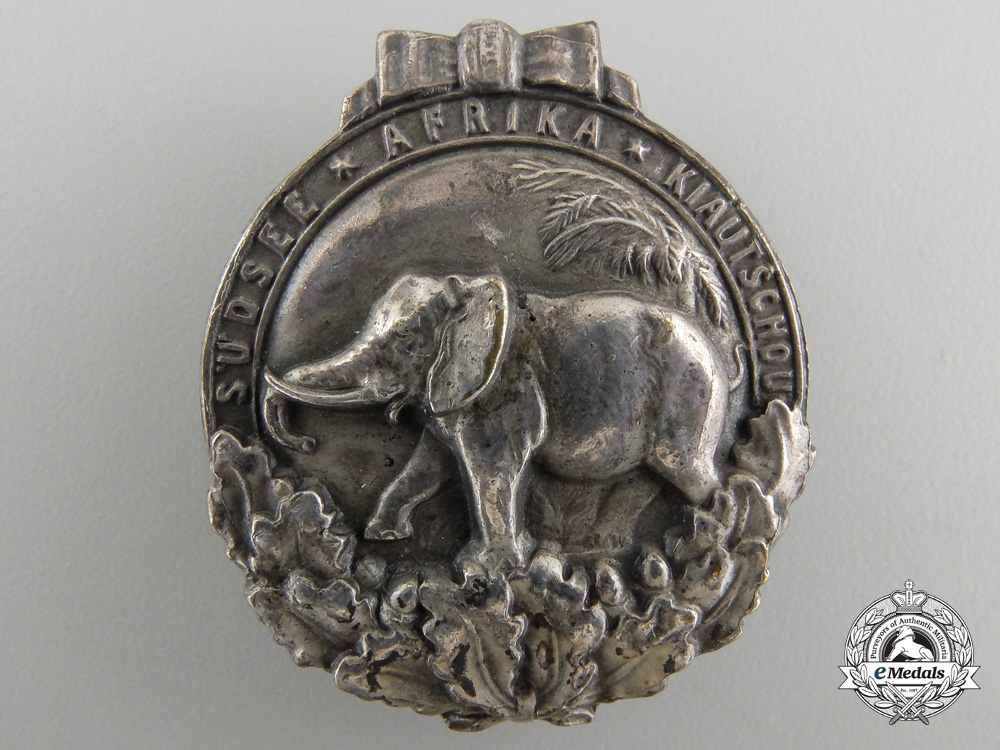eMedals-A German Colonial Honour Badge