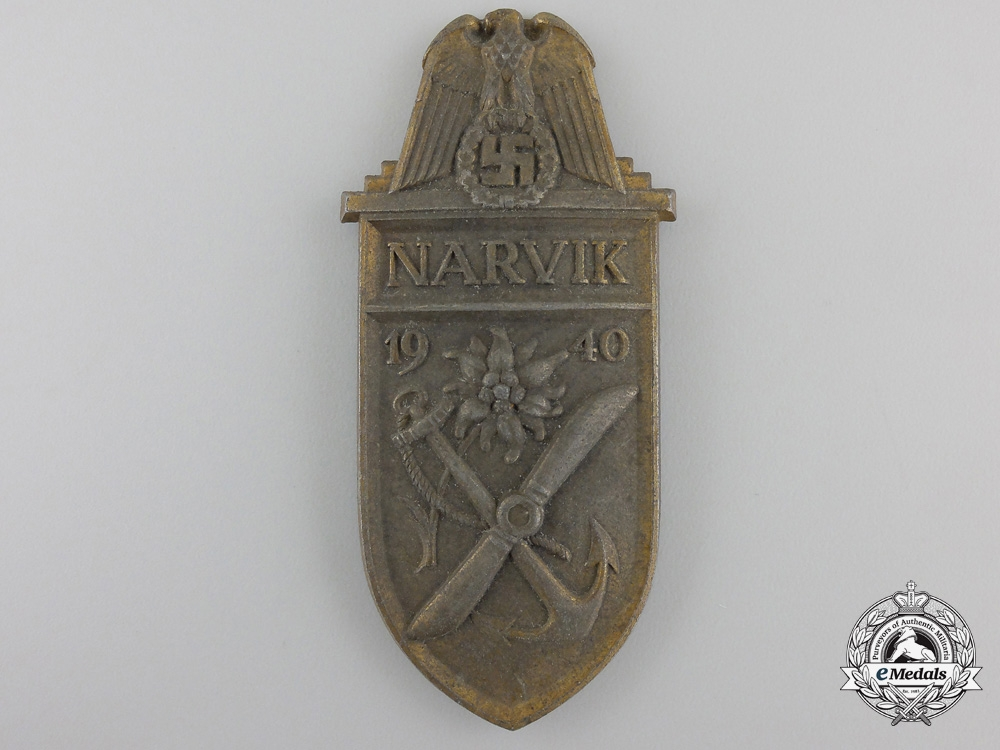 eMedals-A Narvik Campaign Shield