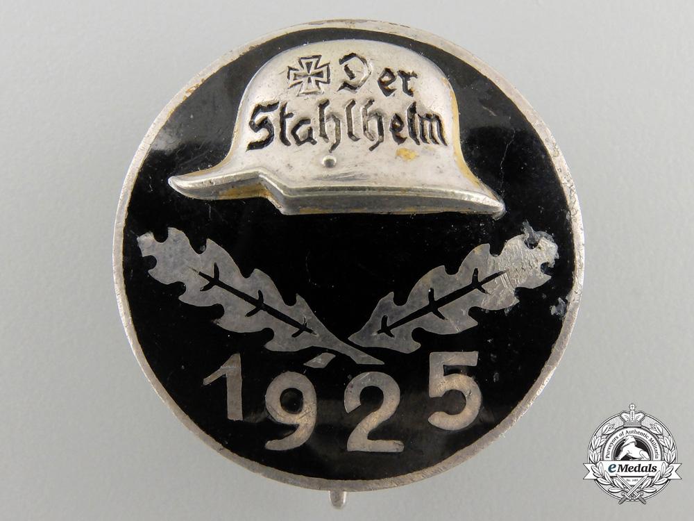eMedals-A1925 Stahlhelm Membership Badge