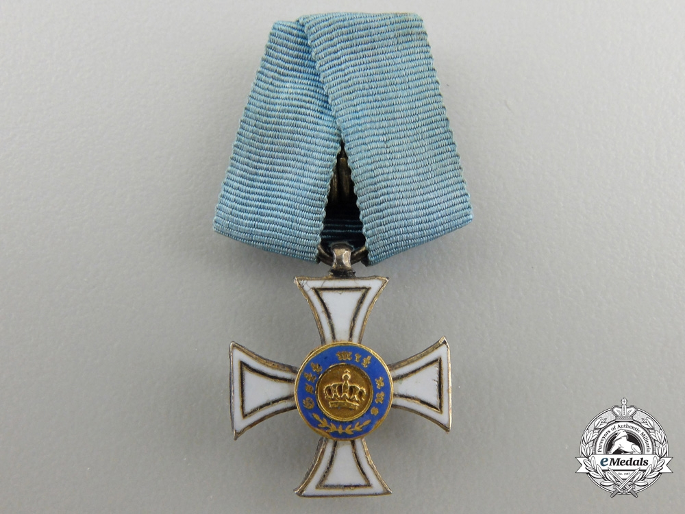 eMedals-A Miniature Prussian Order of the Crown