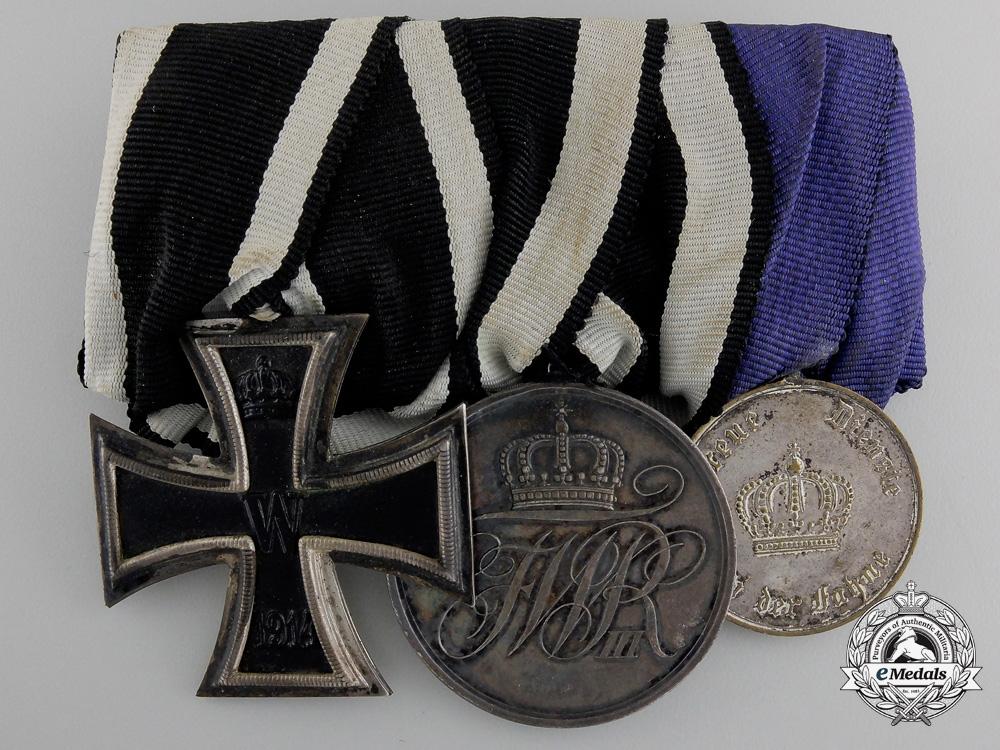 eMedals-A First War Prussian Long Service Medal Bar
