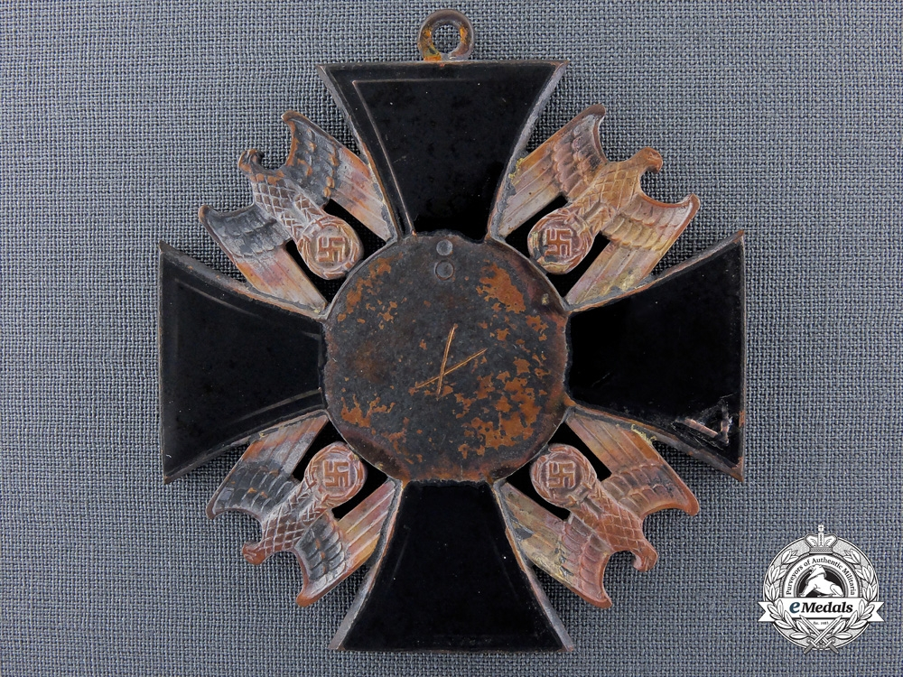 """eMedals-An Exceedingly Rare & Recovered German Order; """"Dead Hero Order"""""""
