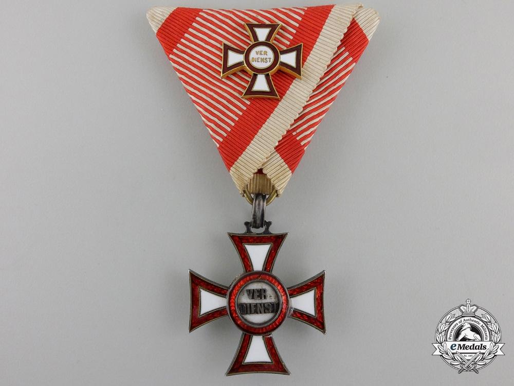 eMedals-An Austrian Imperial Military Merit Cross (MVK)