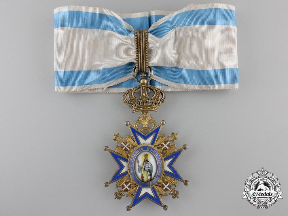 eMedals-A Serbian Order of St. Sava; 3rd Class Commander