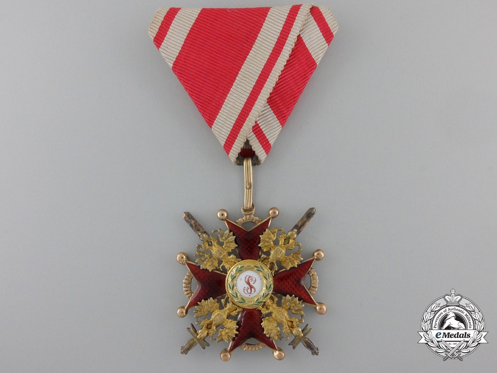 eMedals-An Imperial Russian Order of St. Stanislaus in Gold; 3rd Class