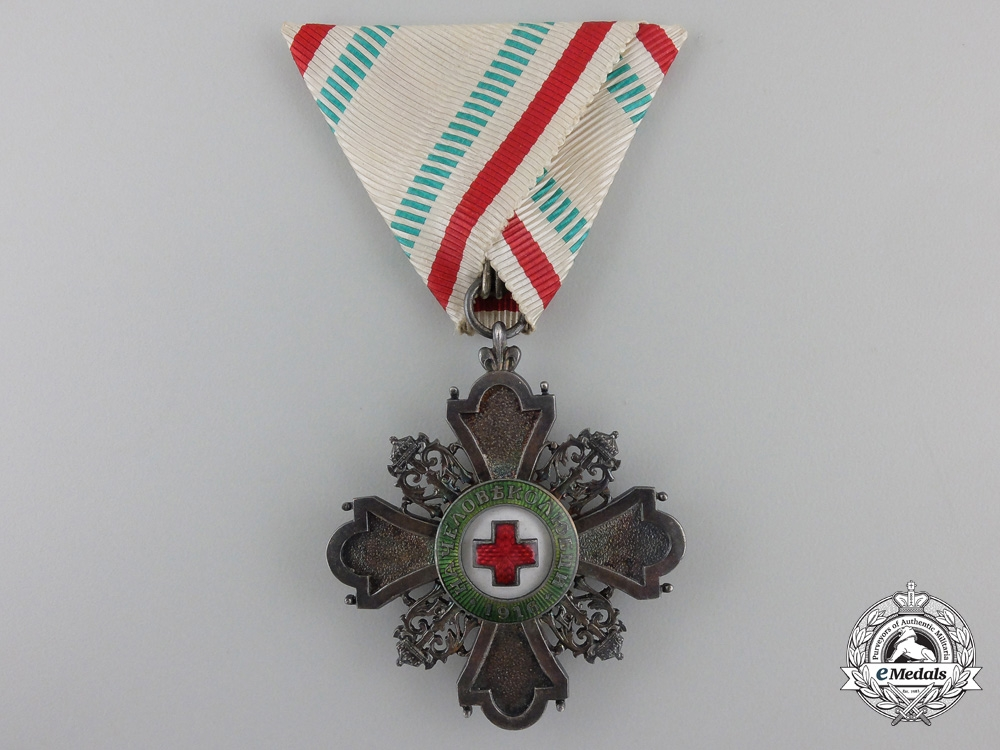 eMedals-Bulgaria, Kingdom. A Red Cross Order, Third Class Knight