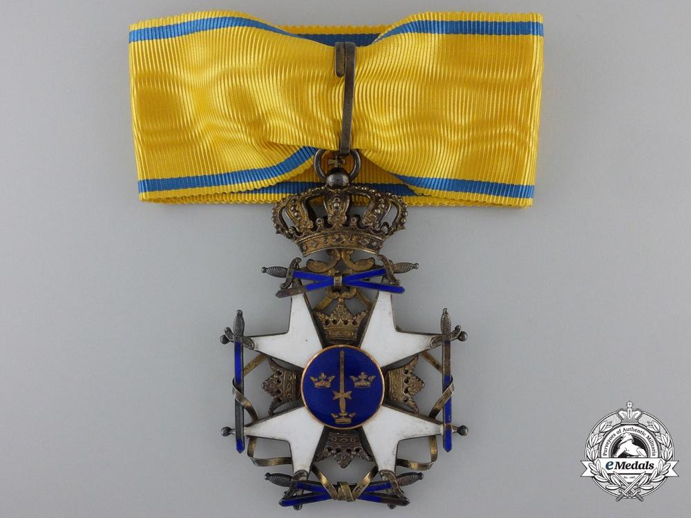 eMedals-A Swedish Order of the Sword; Commander`s Cross