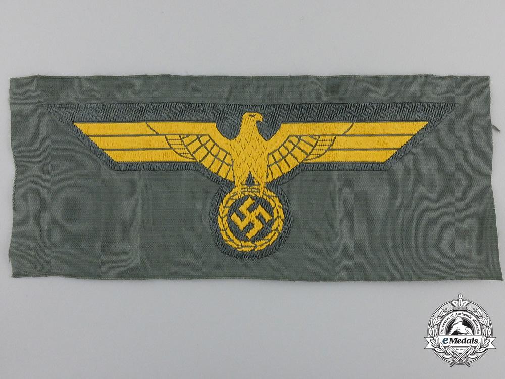 eMedals-A Wehrmacht Coastal Artillery Breast Eagle