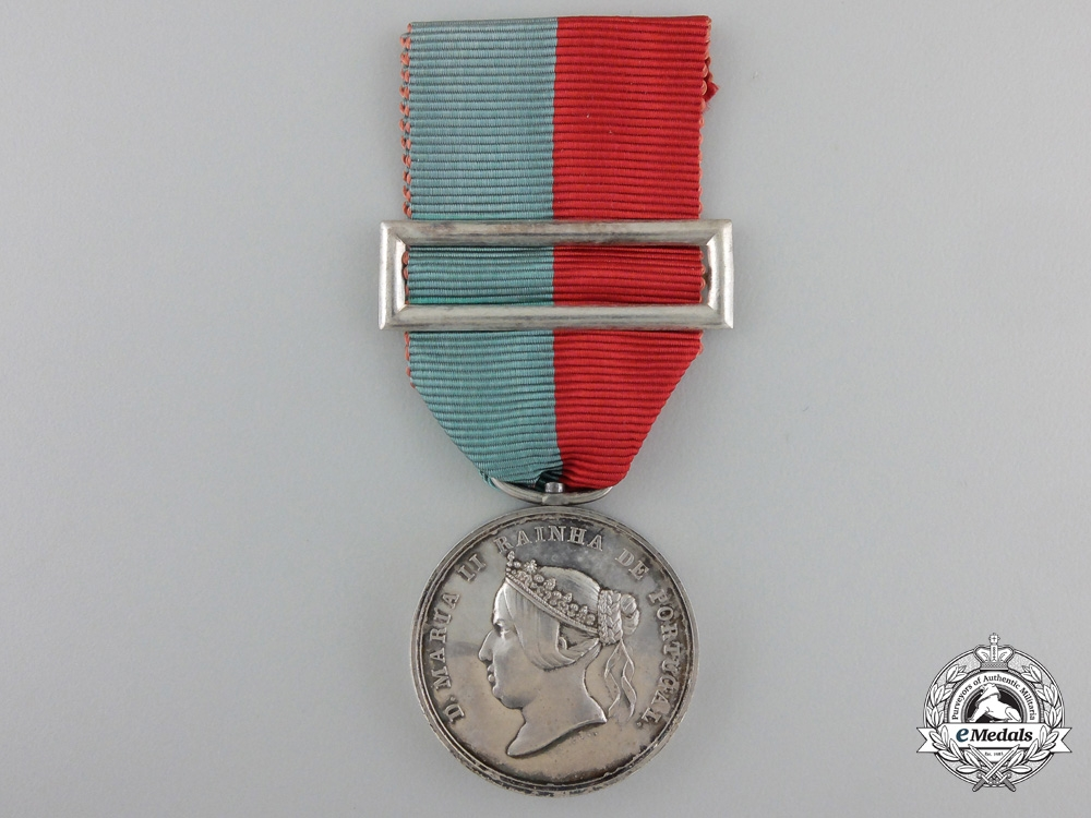 eMedals-A Portuguese Queen Maria II Medal for Philanthropy and Generosity 1833-1853